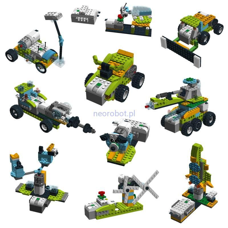 Lego Wedo 20 Pakiet 10 Instrukcji 5 Neorobot