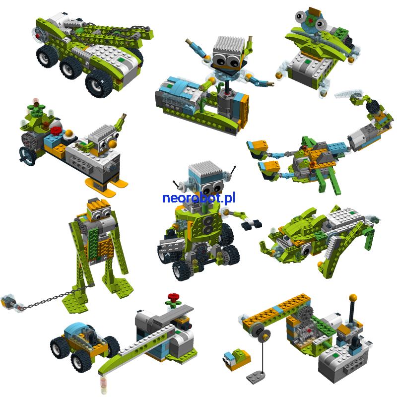 Lego Wedo 20 Pakiet 10 Instrukcji 7 Neorobot