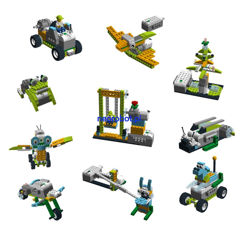 Lego Wedo 20 Pakiet 10 Instrukcji 1 Neorobot