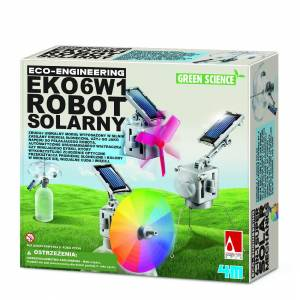 Green Science - 6w1 Eko Robot Solarny