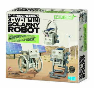 Green Science - 3w1 Mini Solarny Robot
