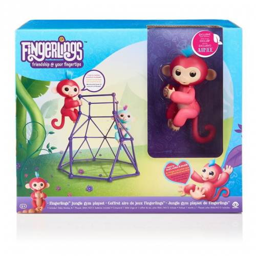 WowWee - Fingerlings - Siłownia w dżungli